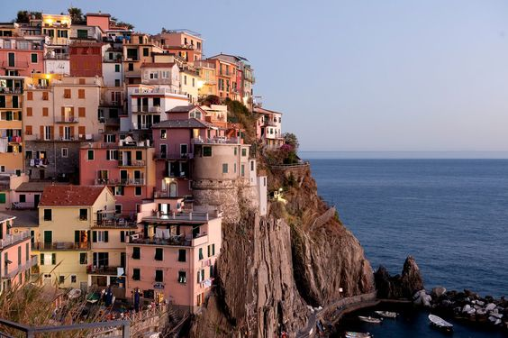 This wildly rugged slice of Ligurian coast with its five tiny towns is a delight…