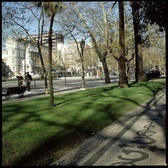 Avenida de Liberdade, Lisboa, Portugal | Flickr - Photo Sharing!