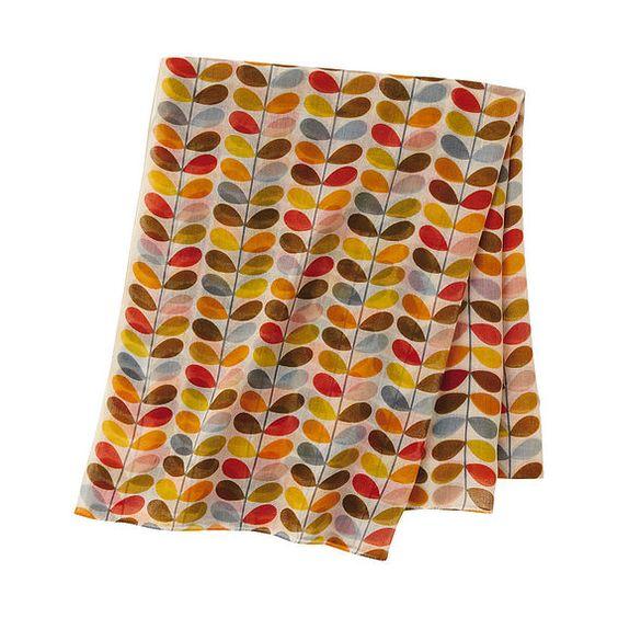 Uniqlo: Kiely Scarf, Stems Print, By Orla Kiely, Clothes And Style, Kiely Stems, Stems Orla, Kiely Designs