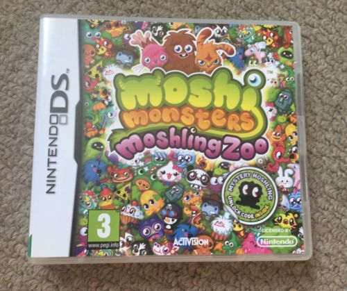 Moshi Monsters Moshling Zoo DS Game https://t.co/tLZnCVByoo https://t.co/hPipyDAI9p