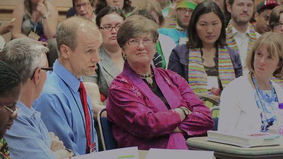 Dibattito sul matrimonio tra coppie dello stesso sesso nella Chiesa Metodista degli Stati Uniti d'America.
