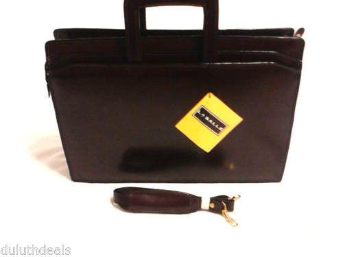 La Salle Top Grain Leather Briefcase Attache