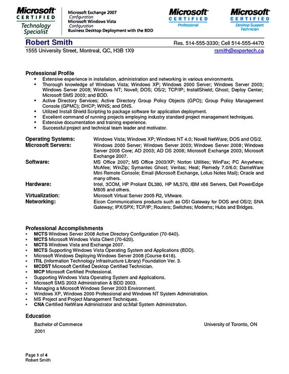 System administrator, Resume and Tips on Pinterest - system admin resume