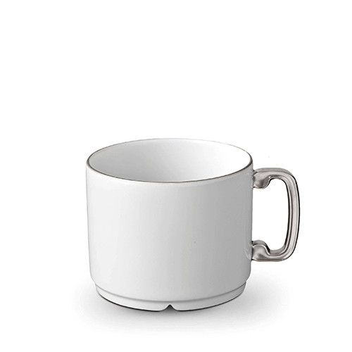 Han Platinum Tea Cup by L'Objet