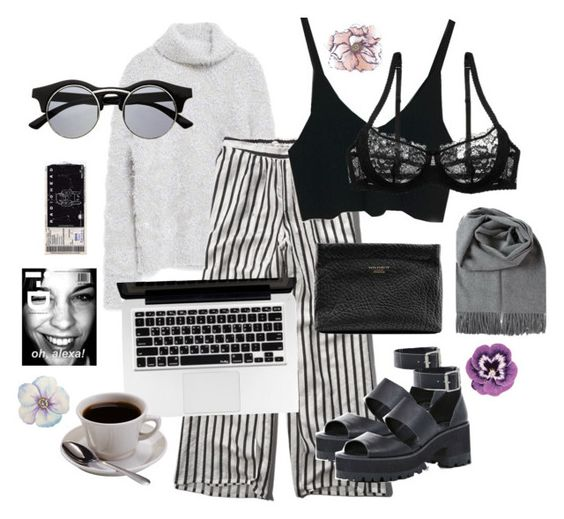 """monday mess"" by ottenestee on Polyvore featuring mode, Zara, Abercrombie & Fitch, Retrò, Acne Studios, River Island, Nourison en Universal Lighting and Decor"