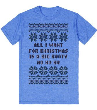 All I Want for Christmas Ugly Christmas Sweater