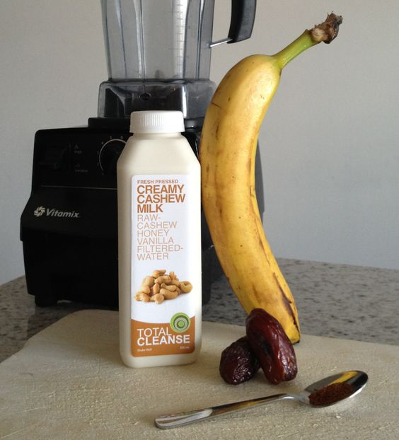 We're in smoothie heaven with this indulgent recipe! SO rich and creamy. SO delicious. And SO super healthy! Check out our Facebook page for the full write up on our Rich & Creamy Cashew Milk Smoothie featuring... none other than our Creamy Cashew Milk! YUMM!  http://www.facebook.com/totalcleanse#!/notes/total-cleanse/rich-creamy-cashew-milk-smoothie/456774497688155