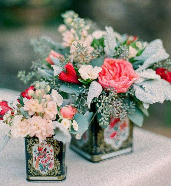 Boda a la vista » Detalles de boda: decoración con latas