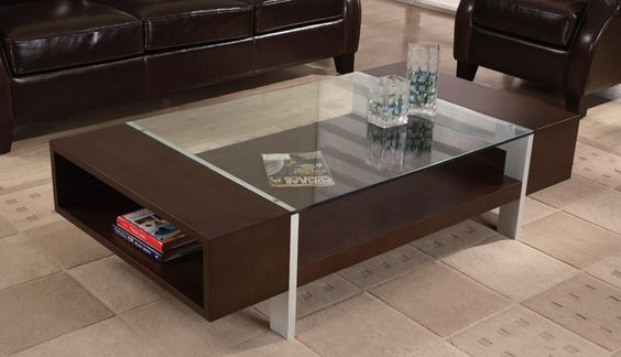 Stunning Modern Coffee Tables Design In Small Design With Glass Material Tile Floor Glass Top Design Leather Sofa Design