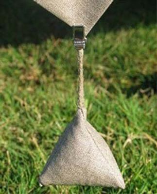 poids de nappe Lin sable