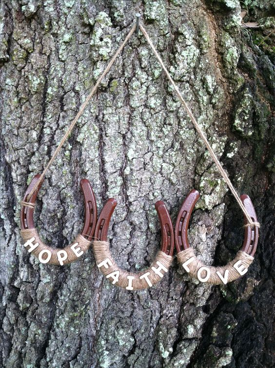 Another project from horseshoes