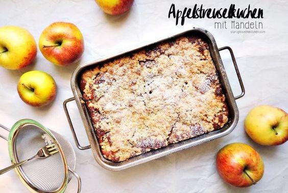 [FOOD] Apfelstreuselkuchen mit Mandeln