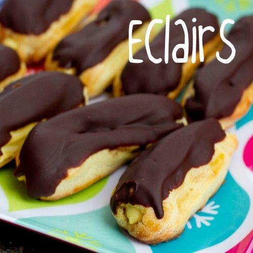 Eclairs - YUMMY YUMMY