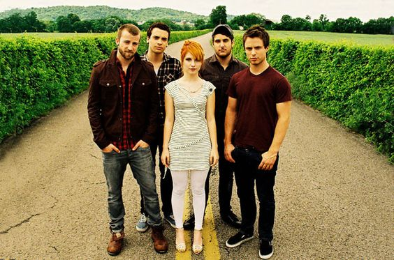 Paramore, been listening to them from the beginning so sad that they aren't all there now. Still waiting for more music though.