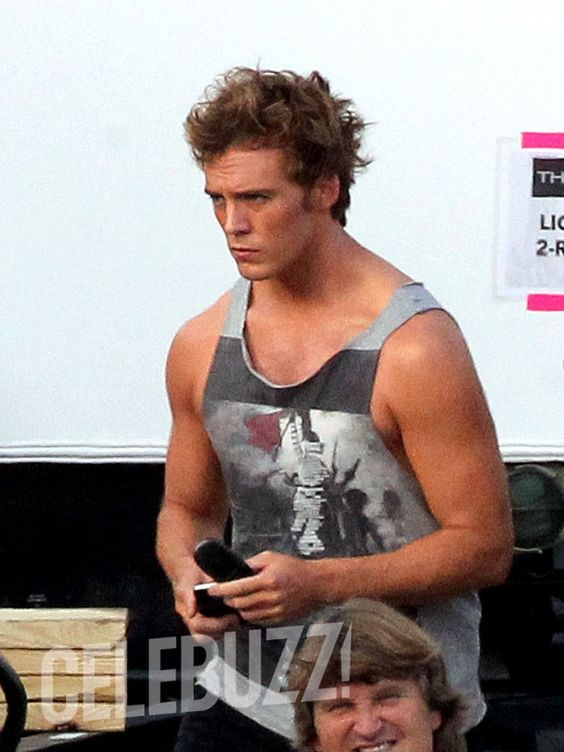 The Hunger Games: Catching Fire: Exclusive First Photos of Sam Claflin on the Atlanta Set (9/12/12)