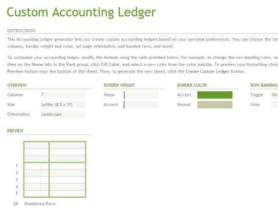 How To Create Accounting ledger Sheets Template in Excel Excel - account ledger template