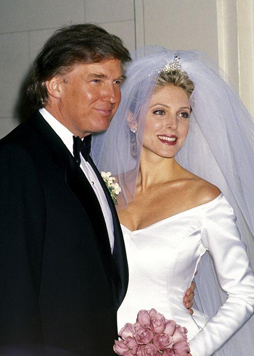 Donald ivana wedding