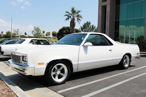 Today S Trucktuesday Feature Is Opgicustomer Douglas Williams 1986 El Camino Doug Has Only Had His Ride For About A Wee Classic Cars Muscle El Camino Chevy