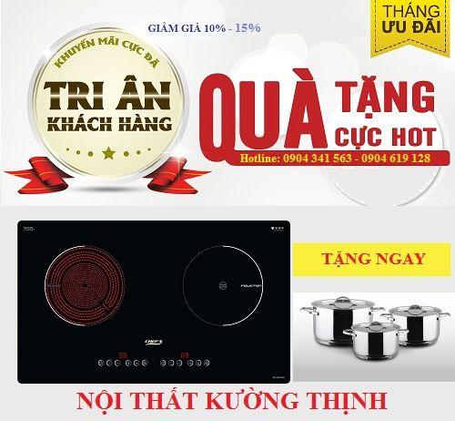Giảm giá đặc biệt khi mua bếp điện từ Chefs EH MIX330