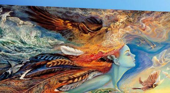"""Maruti Texturas """"madre naturaleza"""" Pintura al óleo del arte de la textura - Perm completa"""