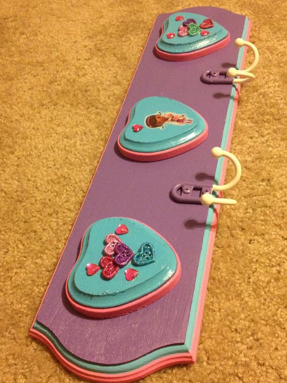 Doc Mcstuffins coat rack