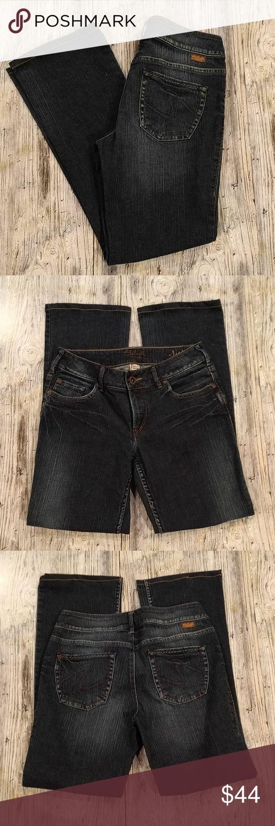 Size 29 Silver Jeans Conversion Billie Jean