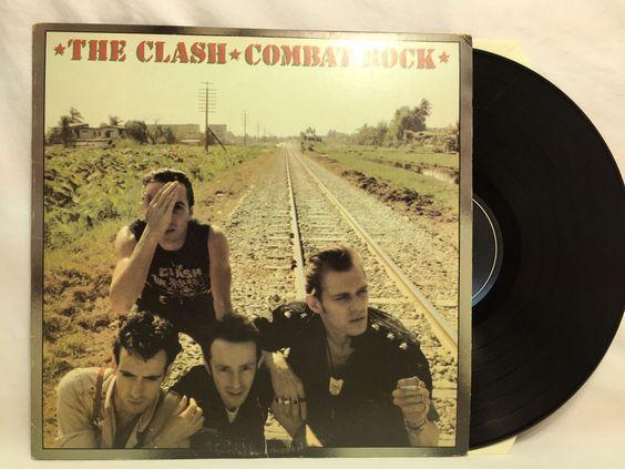 The Clash - Combat Rock Vinyl Record Album PE 37689