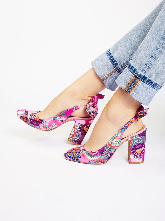 Lovley Things No.13 - Free People Dazzle Dazzle Heel a