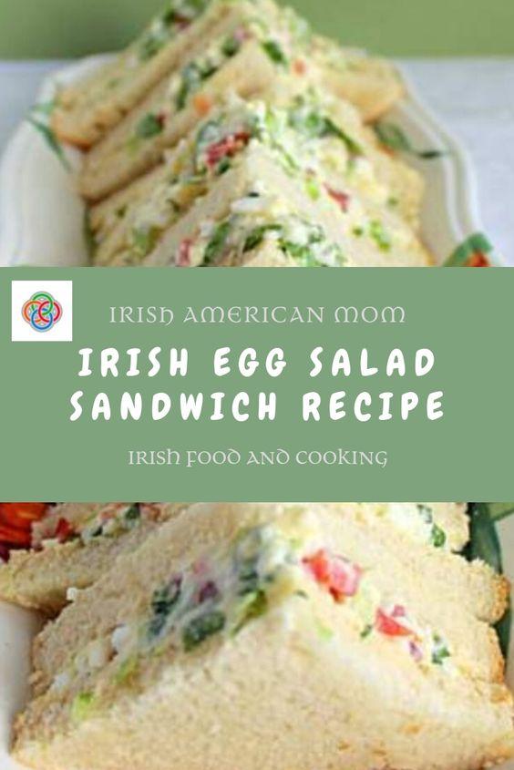 Egg Salad Sandwiches Irish Style