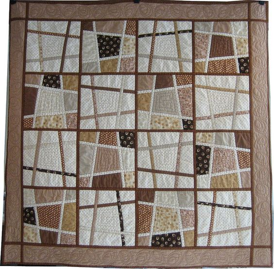 "Like this version of Magic Tiles by Kathleen Bissett, with the varing ""grout"""