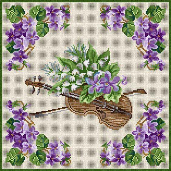 Violin & Violets: