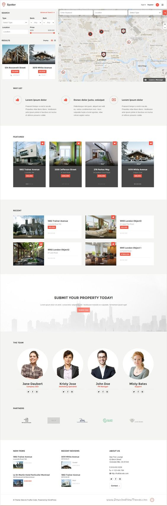 Google themes cars - Spotter Is The Universal 4 In 1 Theme With Google Maps Support For Directory Listing Car Dealership Restaurant Jobs Hotel And Any Other Type Of Listing