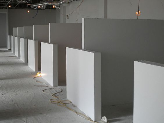 drywall cubicles
