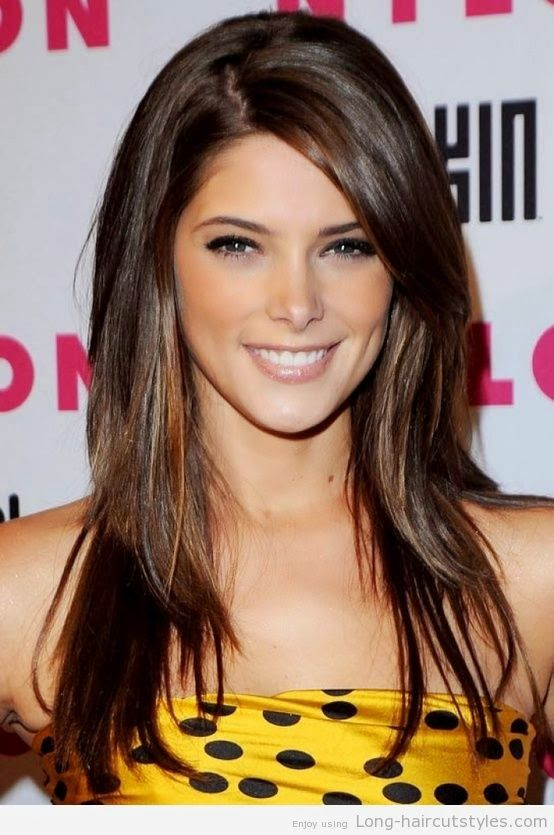 Brilliant Long Hairstyles Long Brunette And Hairstyles On Pinterest Hairstyles For Women Draintrainus