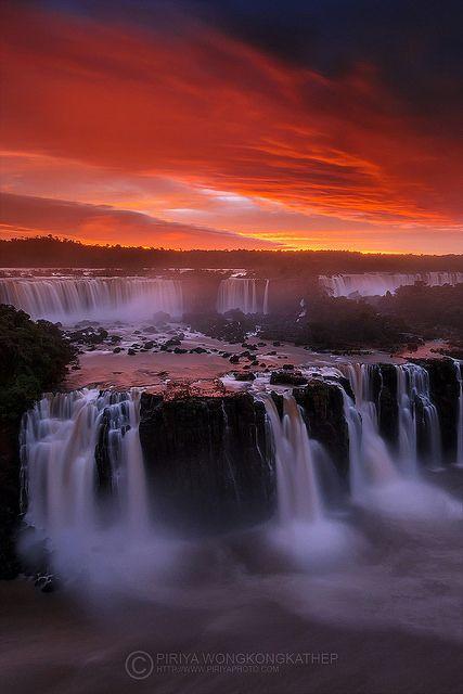 Iguazu Waterfall...