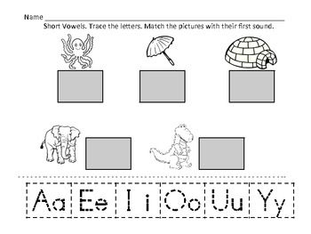 Vowels Worksheets: Short Vowels and Long Vowels are used here. Short ...