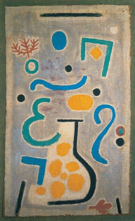 Paul Klee ~ Die Vase, 1938