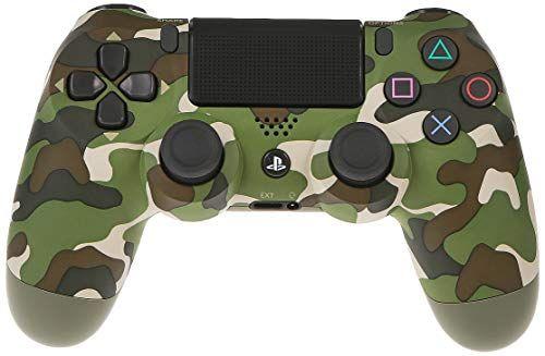 وحدة تحكم سوني لاسلكي دوال شوك 4 V2 لجهاز بلاي ستيشن 4 اخضر جيشي من سوني Gaming Products Game Console Electronic Products
