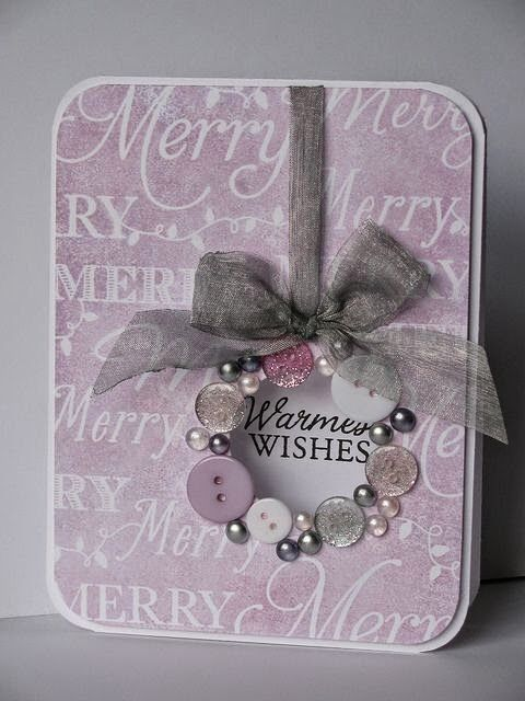 Do you want something new? Button Christmas 2015 card is a great idea. - Fashion Blog