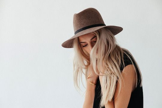 You can never go wrong with a great hat.
