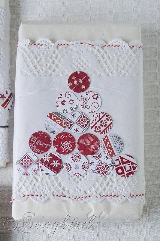 Envoltura de regalos envoltorio and wrapping ideas on - Tarjetas con motivos navidenos ...