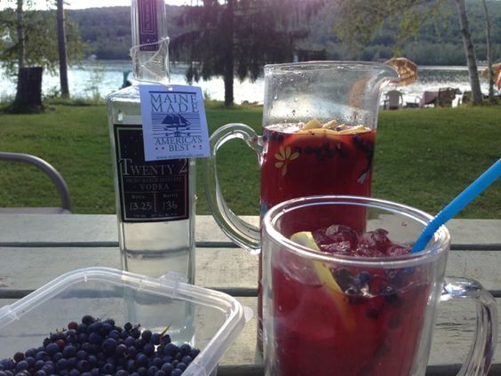 Love to Eat and Run: Adult Blueberry Lemonade
