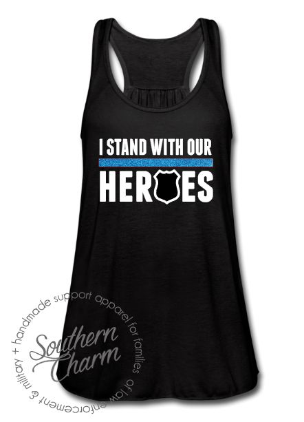 Southern Charm Designs - I Stand With Our Heroes - TBL, $29.00 (http://www.shopsoutherncharmdesigns.com/i-stand-with-our-heroes-tbl/)