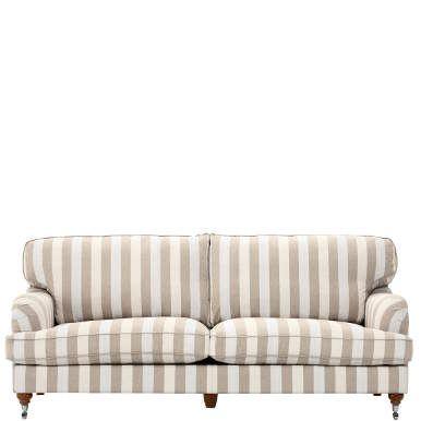 Bilder, Wohnaccessoires, Deko und Pflanzen - das alles gestalten Sie heute so und morgen so. Doch mit Sofa und Sessel gehen Sie schon eine engere (und gerne auch längere) Verbindung ein. Zeitlosigkeit, Komfort und Vielseitigkeit werden da zu gern gesehenen Qualitäten, mit denen die Middleton-Serie auftrumpfen kann. Sofas, Sessel und Hocker im englischen Landhausstil machen Ihnen am Anfang zwar mit zwei unterschiedlichen Bezugsstoffen (einer davon noch in verschiedenen Farben) die Auswahl ...