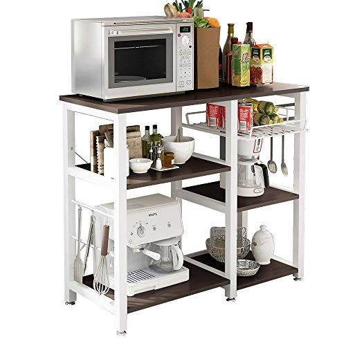 Soges 3 Tier Kitchen Baker S Rack Utility Microwave Oven Stand