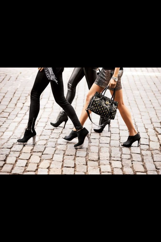 Michael Kors ad with great Fall ideas