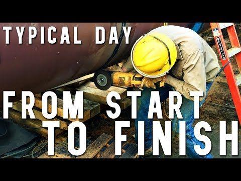 Day In The Life Of A Pipeline Welder Helper Youtube Pipeline Welders Welders Life