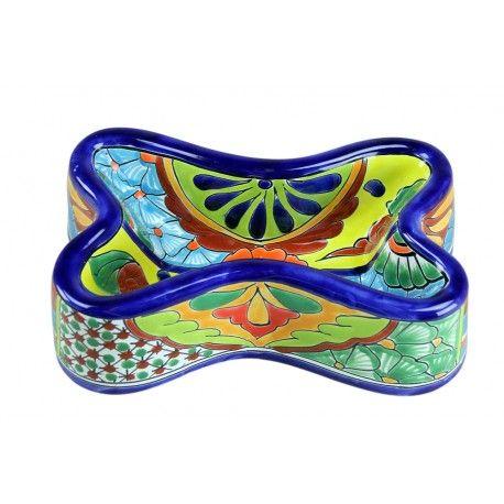 Talavera Dog Bowl