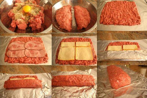 Pastel de carne al horno amas de casa tu voz tu idioma - Carnes rellenas al horno ...
