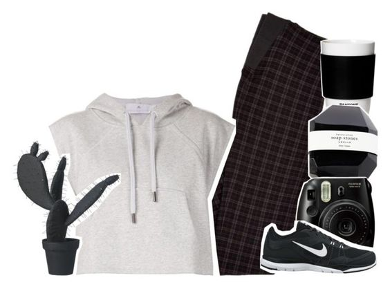 """❀ beating"" by c-astaway ❤ liked on Polyvore featuring ROOM COPENHAGEN, adidas, NIKE and Wandschappen"
